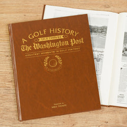 Historic Golf Newspaper Book
