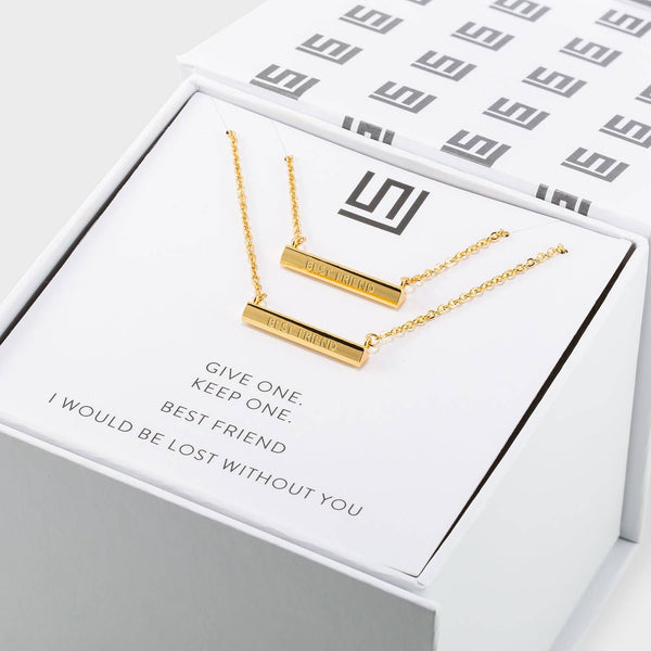 Best Friends Necklace Gift Set