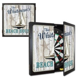 Personalized Dartboard & Cabinet Set