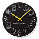 History of Art Clock
