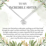 Incredible Sister Necklace