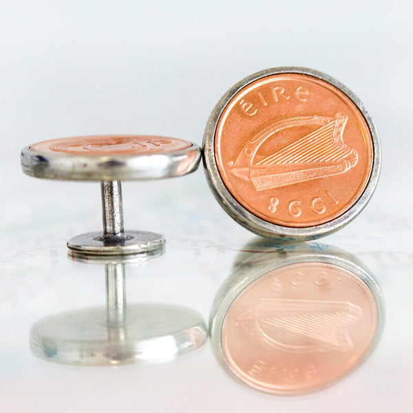 Irish Penny Cufflinks