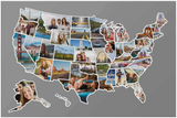 USA States Photo Map