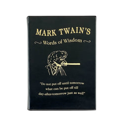 Mark Twain's Words of Wisdom