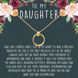 My Daughter Necklace