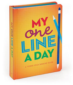 My One Line a Day for Kids