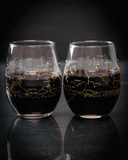 Night Sky Wine Glasses