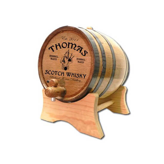 Personalized Whiskey Barrel - Scotch Whisky