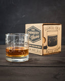 Whiskey Chemistry Lowball Glass