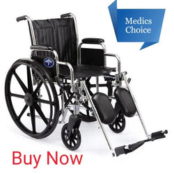 Medics Choice Wheelchair: Medline - Excel 2000