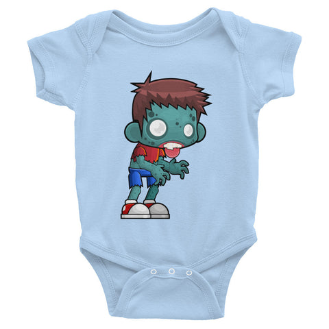 Infant Short Sleeve One-Piece Baby Boy Zombie