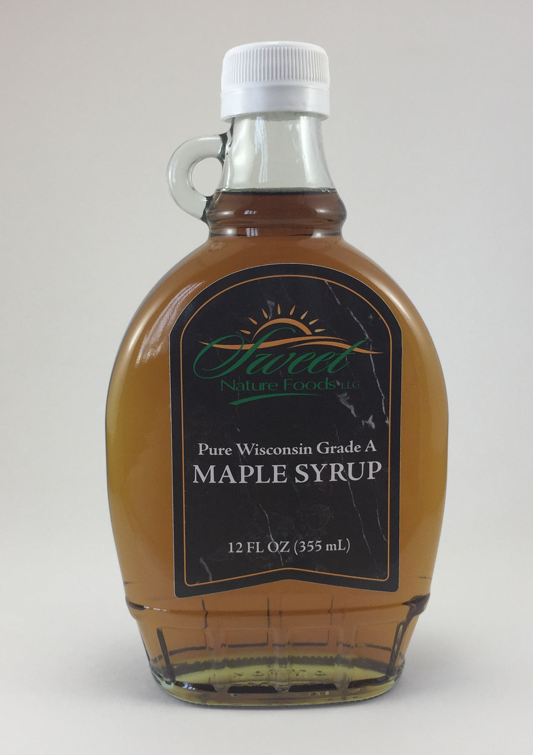 Maple Syrup - Four 12 Ounce Glass Jugs