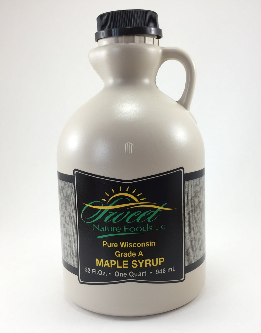 Pure Maple Syrup - 1 Quart Sweet Nature Jug