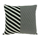 """18"""" x 0.5"""" x 18"""" Transitional White Pillow Cover"""