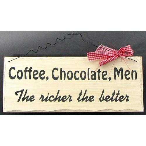 The Richer The Better Plaque - www.myhomeandgardendecor.com