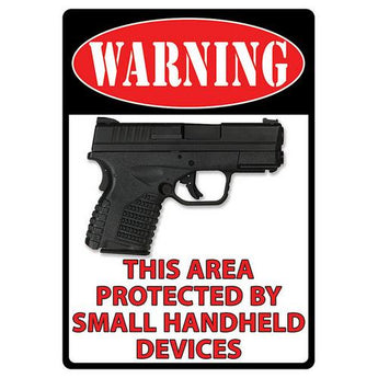 Warning-Handheld Devices