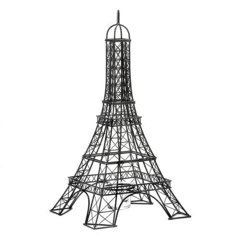 Eiffel Tower Candle Holder - www.myhomeandgardendecor.com