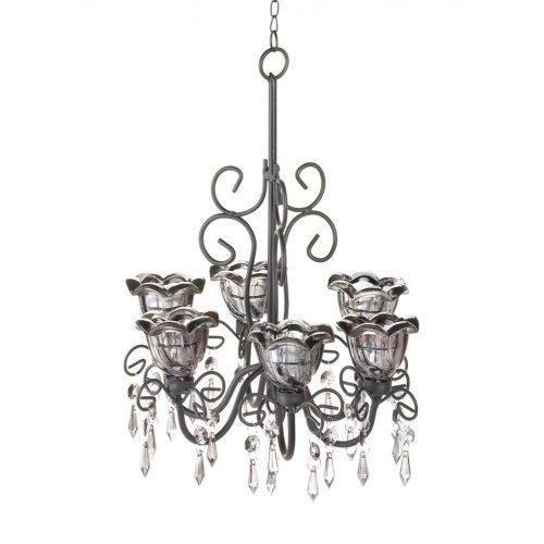 Midnight Blooms Chandelier (pack of 1 EA)