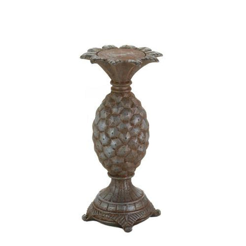 Small Pineapple Candle Holder - www.myhomeandgardendecor.com