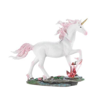 Unicorn Crystals Figurine - www.myhomeandgardendecor.com