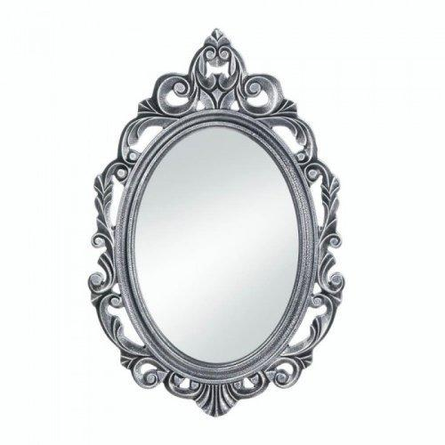 Silver Royal Crown Wall Mirror - www.myhomeandgardendecor.com
