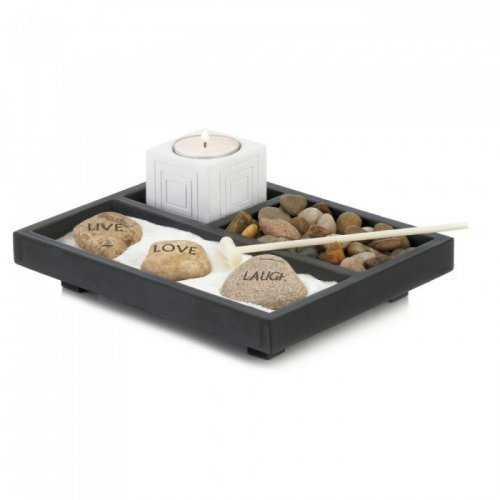 Live Love Laugh Zen Garden - www.myhomeandgardendecor.com