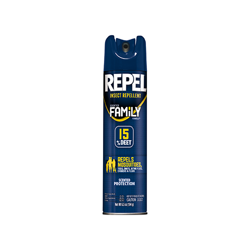Repel Insect Repellent Scented Family Formula 15% DEET 6.5 oz. - www.myhomeandgardendecor.com
