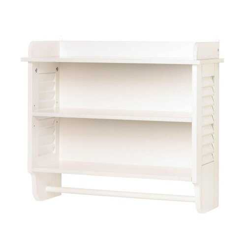 Nantucket Bathroom Wall Shelf - www.myhomeandgardendecor.com