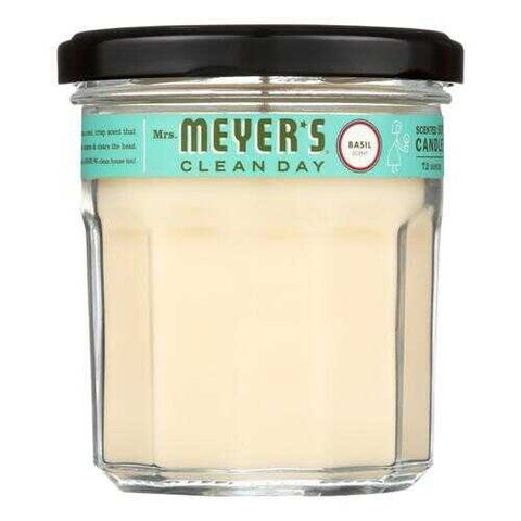 Mrs. Meyer's Clean Day - Soy Candle - Basil - 7.2 oz - www.myhomeandgardendecor.com