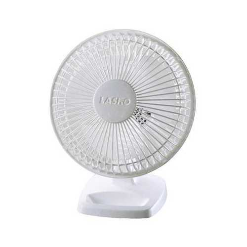 "6"" Personal Fan- White - www.myhomeandgardendecor.com"