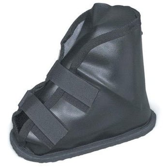 Duro-Med 530-6049-0221 Vinyl Cast Boot, Black - www.myhomeandgardendecor.com