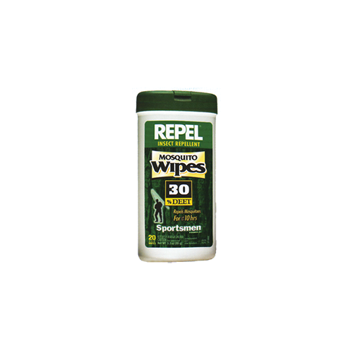 Repel Insect Repellent Mosqutio Wipes 30% DEET 15 ct. - www.myhomeandgardendecor.com