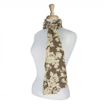 "18"" x 72"" 100% Cotton Multicolor Scarf - www.myhomeandgardendecor.com"