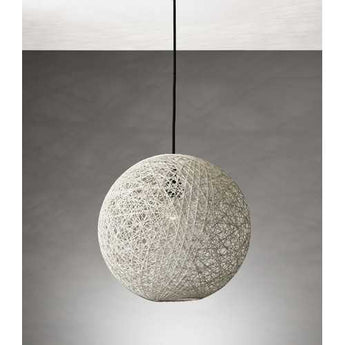 "15"" X 15"" X 13.5"" Natural Shade Large Pendant - www.myhomeandgardendecor.com"