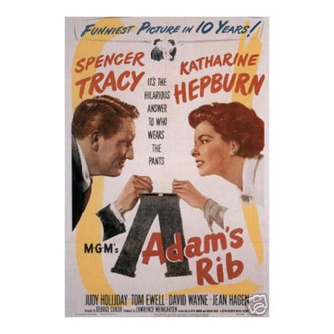 "Adam""s rib Spencer Tracy Katharine Hepburn"