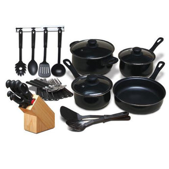 Gibson Home Total Kitchen 32 Piece Cookware Combo Set - www.myhomeandgardendecor.com