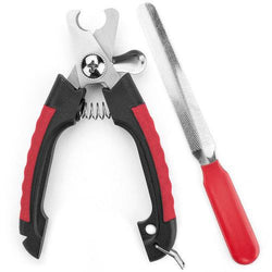 Safety Guard Nail Clipper with File