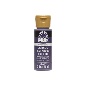 Plaid Folkart Acrylic Paint In Assorted Colors (2 Oz)Purple