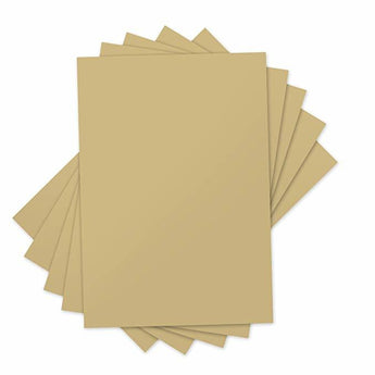 Sizzix Ink Transfer Film Sheets 4 X 6 inches Gold