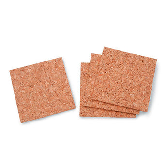 Cork Tile Square 5Mm Thick 4 X 4 Inches