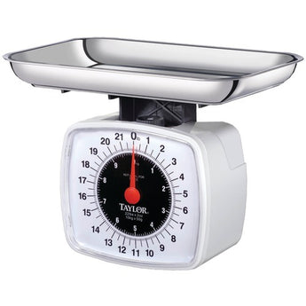 Taylor Kitchen & Food Scale, 22 Lbs (pack of 1 Ea) - www.myhomeandgardendecor.com