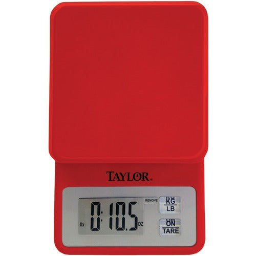 Taylor Compact Kitchen Scale (pack of 1 Ea) - www.myhomeandgardendecor.com