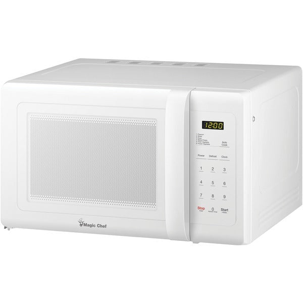Magic Chef .9 Cubic-ft Countertop Microwave (white) (pack of 1 Ea) - www.myhomeandgardendecor.com
