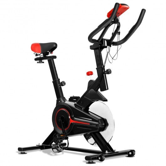Indoor Workout LCD Display Cycling Exercise Fitness Cardio Bike - www.myhomeandgardendecor.com