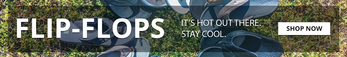 Flip-Flops | It's hot out there. Stay cool. | Shop Now