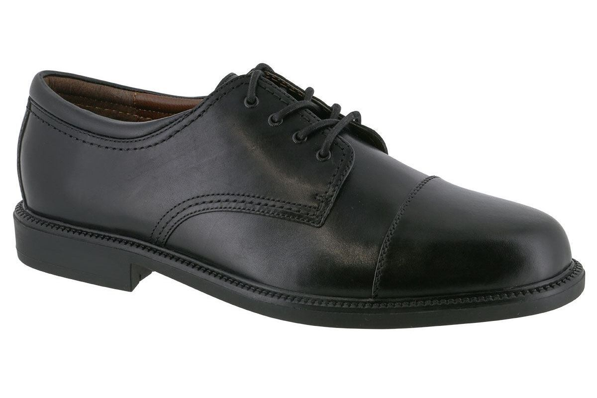 Dockers Gordon Cap Toe Oxford Black - 2BigFeet ca5363ba35d7