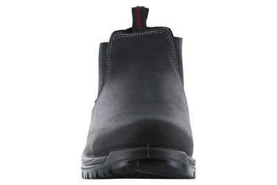Avenger Foreman Composite Toe Slip On Boot Black