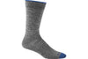 Darn Tough Solid Crew Sock Grey