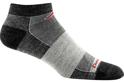 Darn Tough No Show Light Sock Charcoal