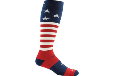 Darn Tough Stars and Stripes Cushion Sock
